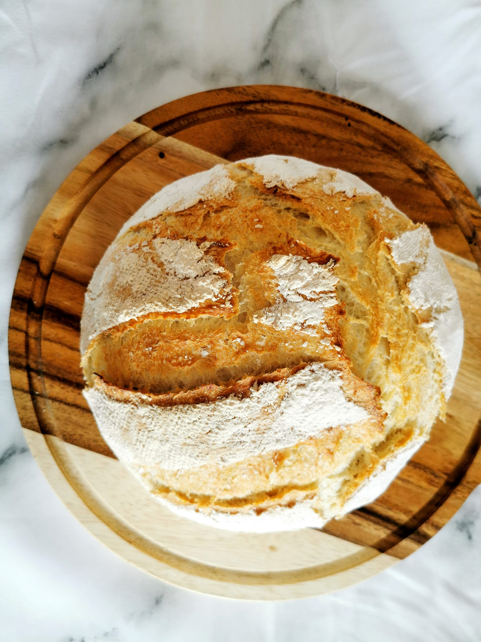 Crusty White Loaf