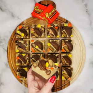 Reese's Double Layer Peanut Butter 'Fudge'