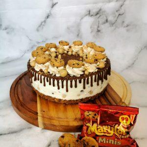 Cookie Dough Cheesecake (No Bake)