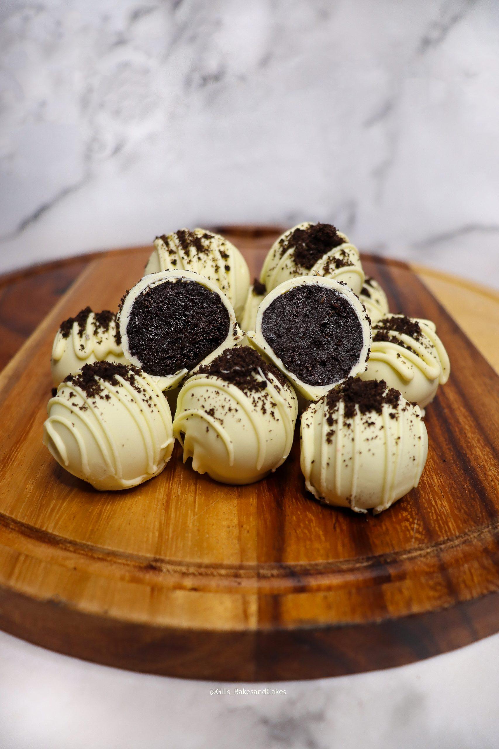 Oreo Cookies and Cream Truffles