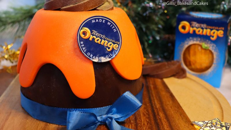 Terry's Chocolate Orange Pudding Biscuit Cake