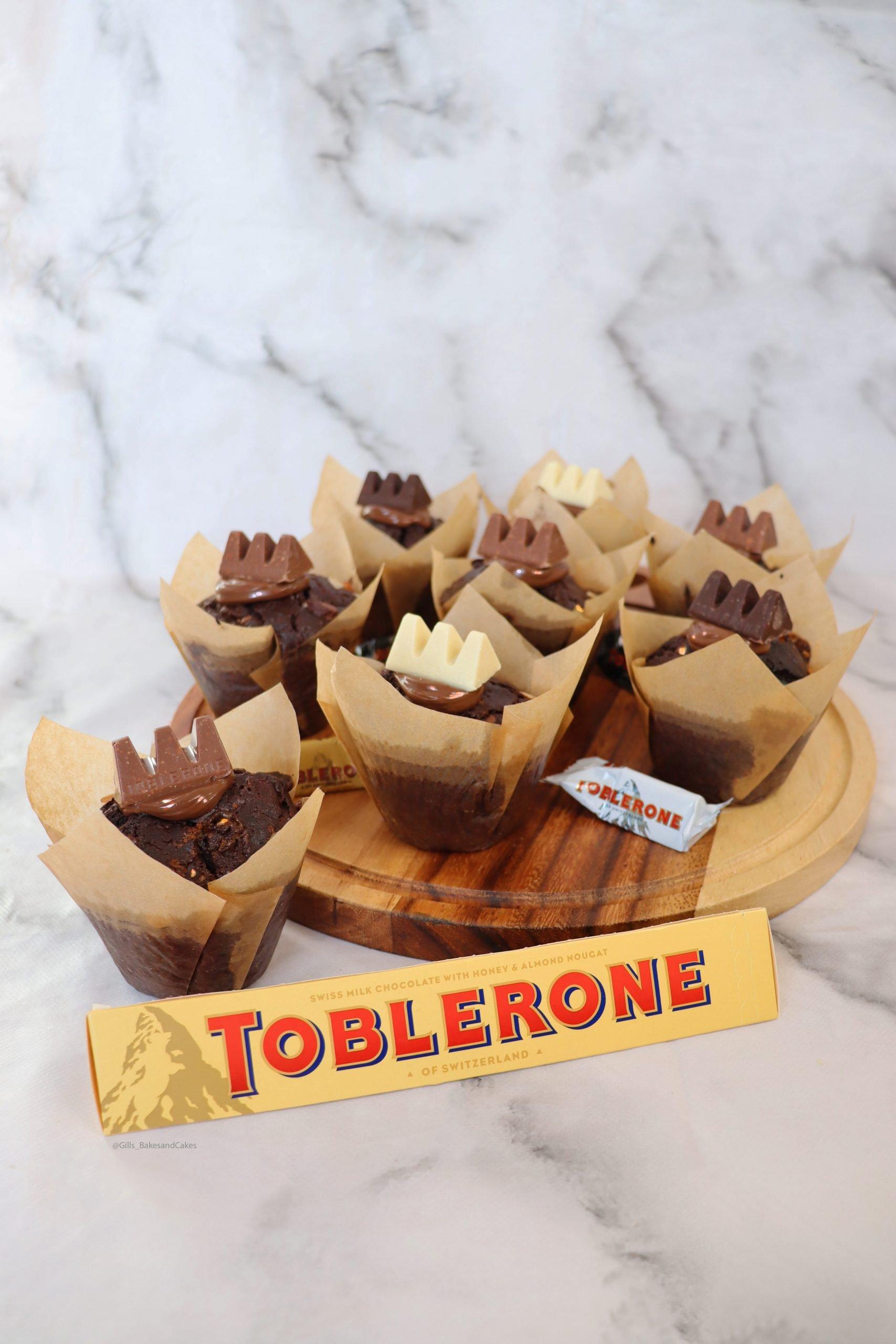 Toblerone Muffins