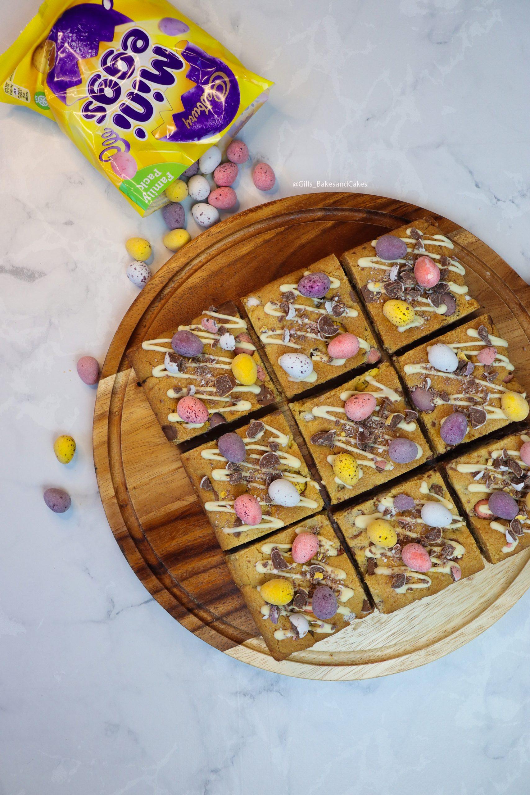 Mini Egg Cookie Bars