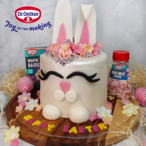 Easter Bunny Celebration Cake with Dr.Oetker