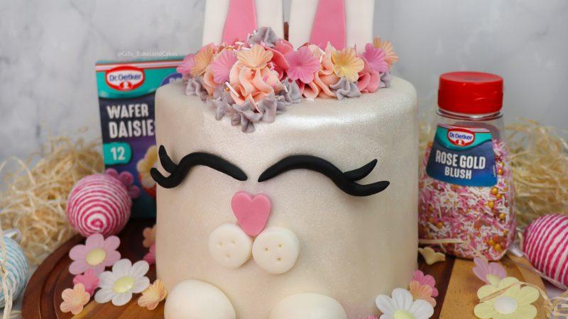Easter Bunny Celebration Cake with Dr.Oetker